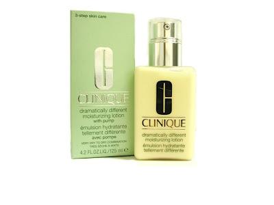 hidratante clinique pele seca e com acne