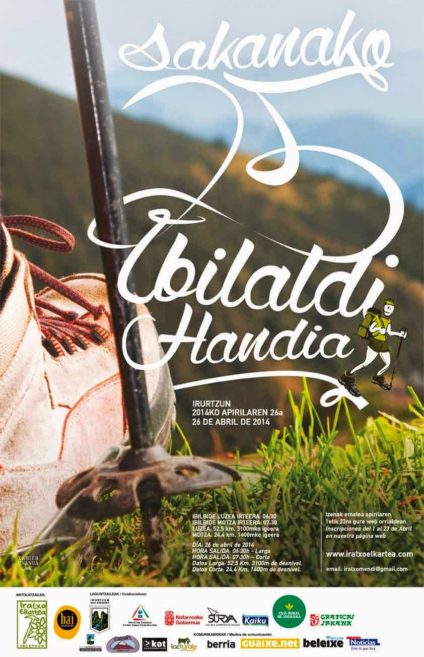 XXV IBILALDI HANDIA