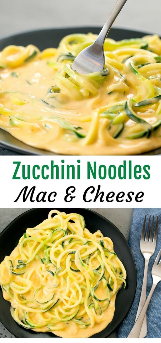 Zucchini Noodles Mac & Cheese