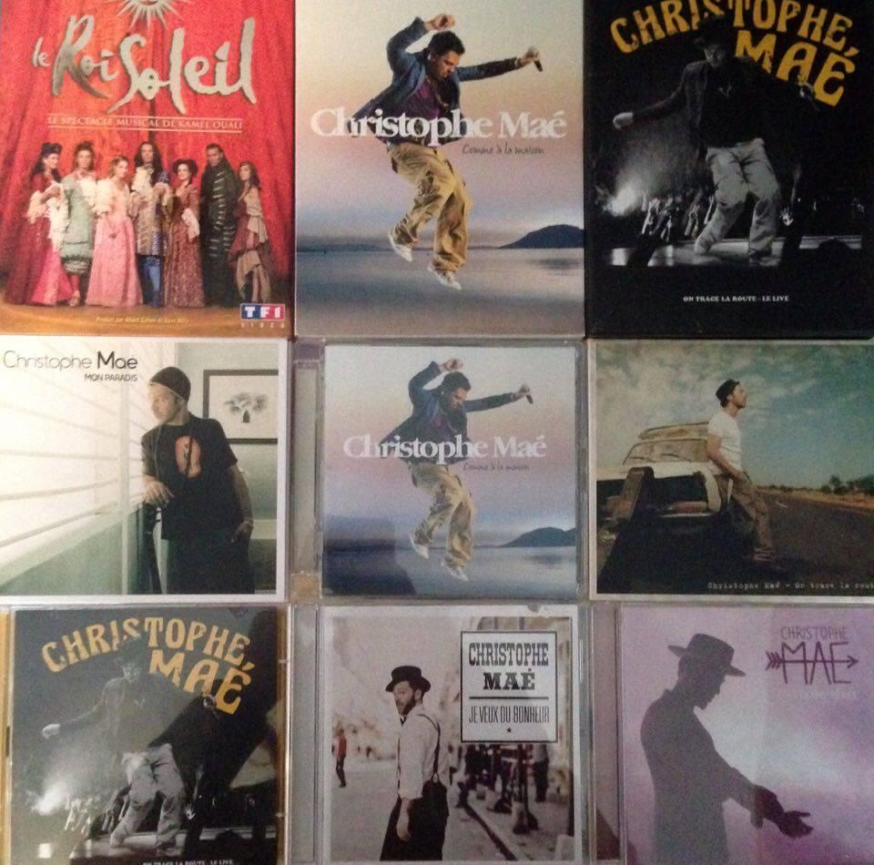 Christophe-Maé-albums
