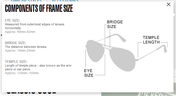 4b0ecaef3df8 ... sunglasses f1511 36630; promo code for ray ban aviator sizes guide  a82c7 59d6b
