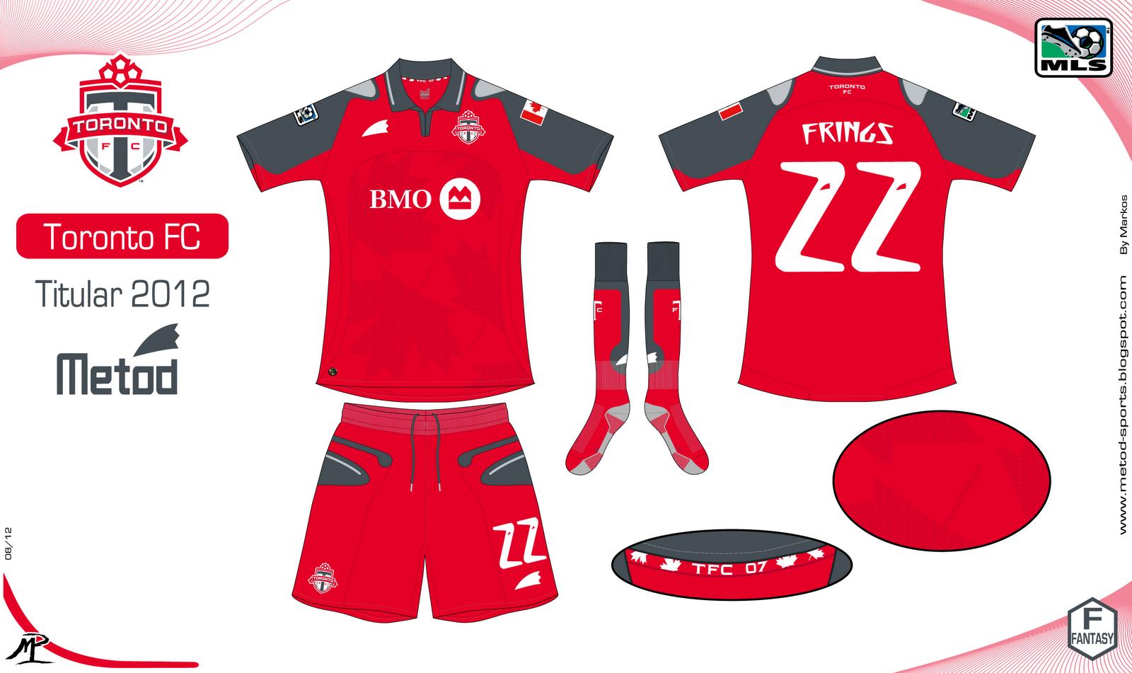 big sale 53dfc e56de Concepts: Toronto FC Football Kits | FOOTY FAIR