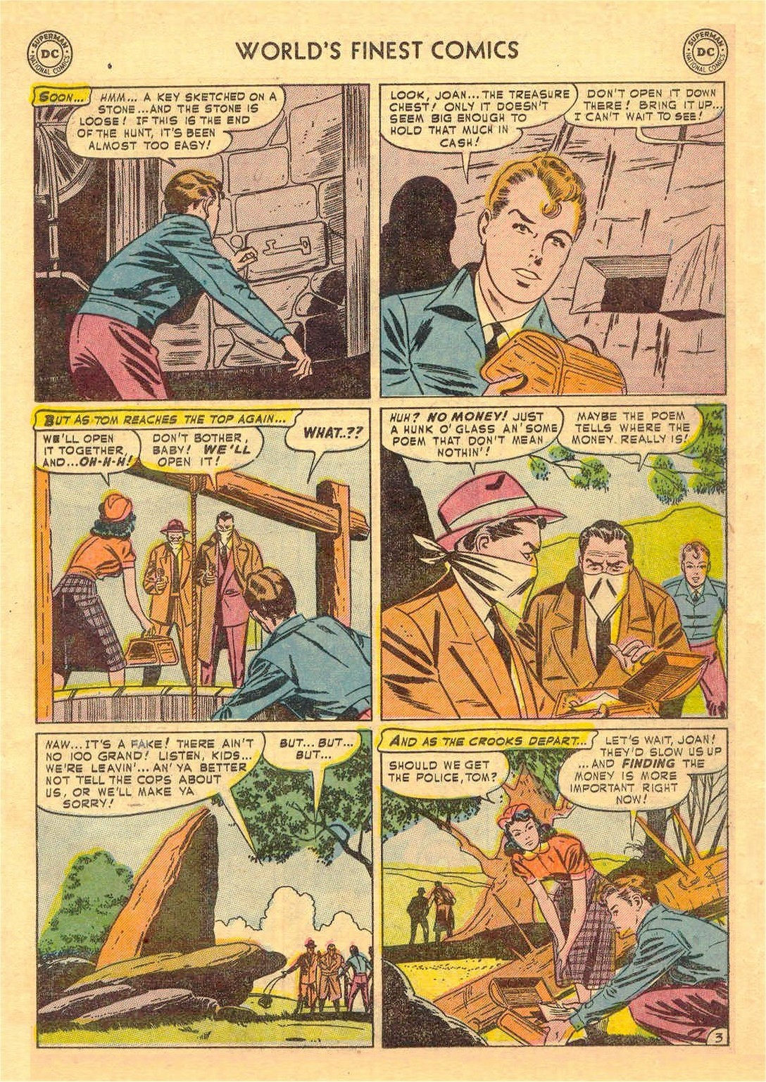Read online World's Finest Comics comic -  Issue #58 - 43