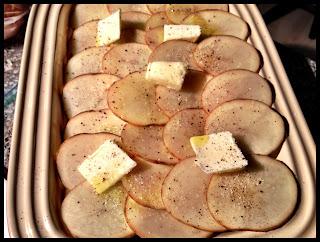 Easy Potato Gratin \\ Recipe from @basilmomma
