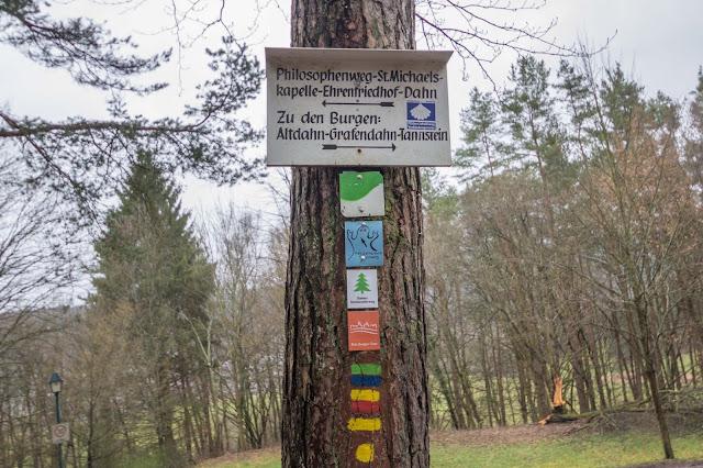 Felsenland Dahn  Wanderung Burgruine Altdahn – Jungfernsprung 08