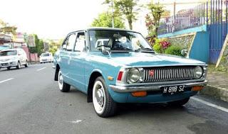 Dijual Corolla Klasik 1972 ori semua panel normal
