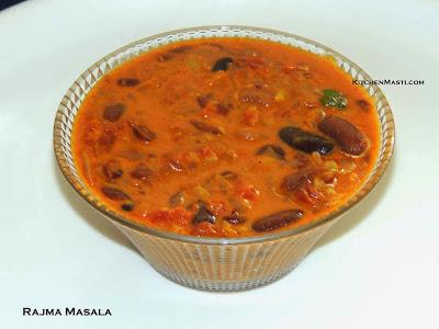 Rajma+masala