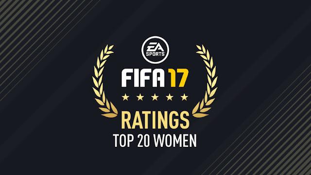 As melhores jogadoras do FIFA 17