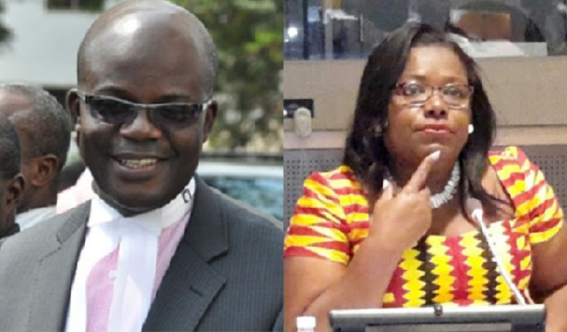 Lawyer Tony Lithur 'dumps' Oye Lithur, former minister of state