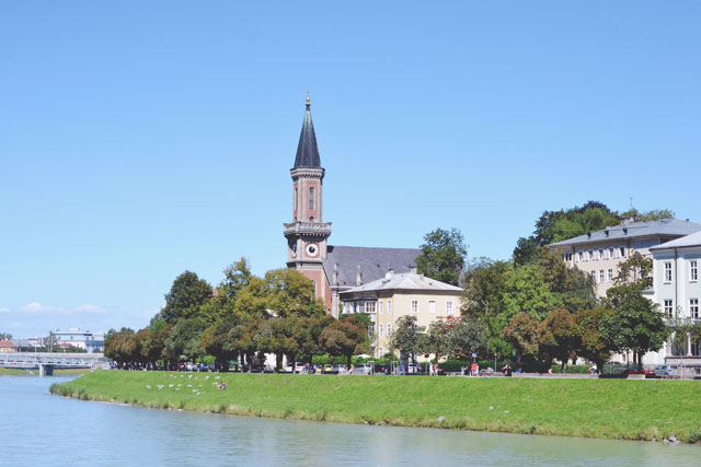 Salzburg Salzach River