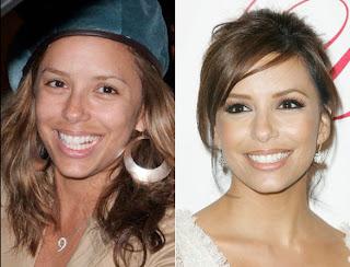 maquilhagem+antes+e+dp+eva+longoria++8 - Famosas Antes e Depois da Maquilhagem