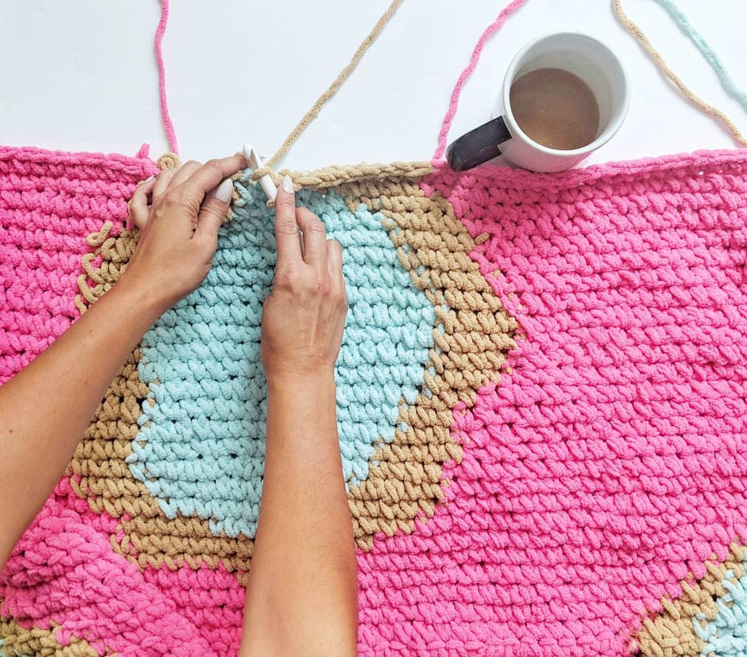 Donut Blanket | OTH Crochet Nook