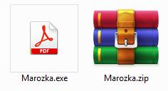 Marozka Ransomware file файл