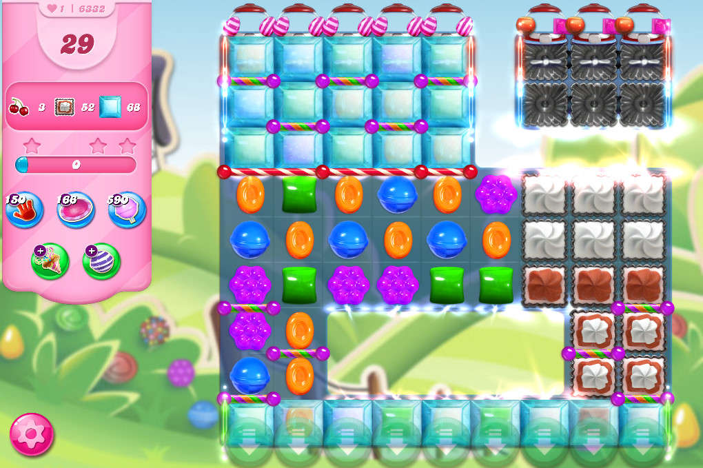 Candy Crush Saga level 6332
