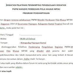 Contoh Notulen Rapat Musyawarah Desa Siamplop
