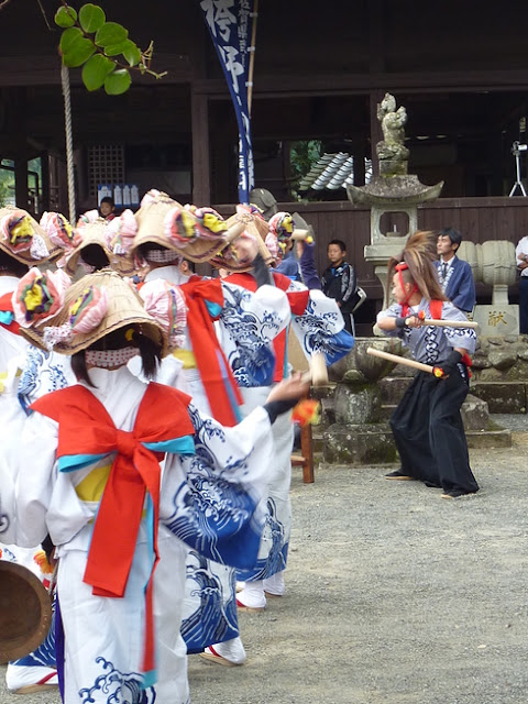 Hakamano Menburyu (Mask Dance), Takeo City, Saga Pref.