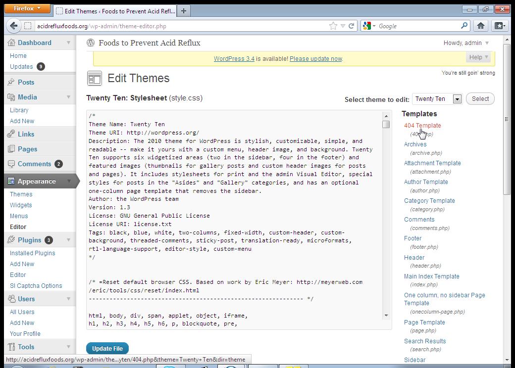 Uploading Shell In WordPress   Hackers