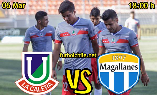 Ver stream hd youtube facebook movil android ios iphone table ipad windows mac linux resultado en vivo, online: Unión La Calera vs Magallanes