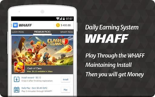 Whaff Rewards 218 Apk Free Aplikasi Penghasil Dollar Gratis For Android