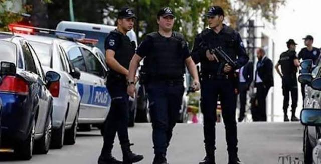 مقتل شرطي تركي في اسطنبول على يد إرهابي
