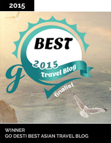 Go Desti Best Asian Travel Blog Winner