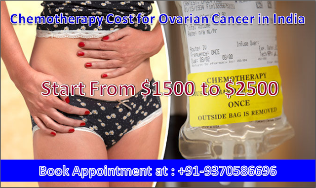 Chemotherapy Cost for Ovarian Cancer in India