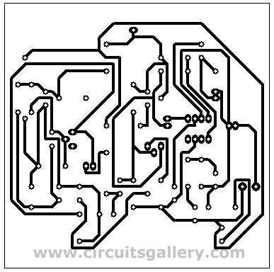 Condenser Microphone Amplifier Schematic using BEL 1895 IC