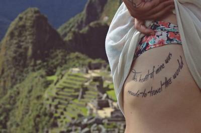 Ideias inspiradoras de tatuagens para quem ama viajar