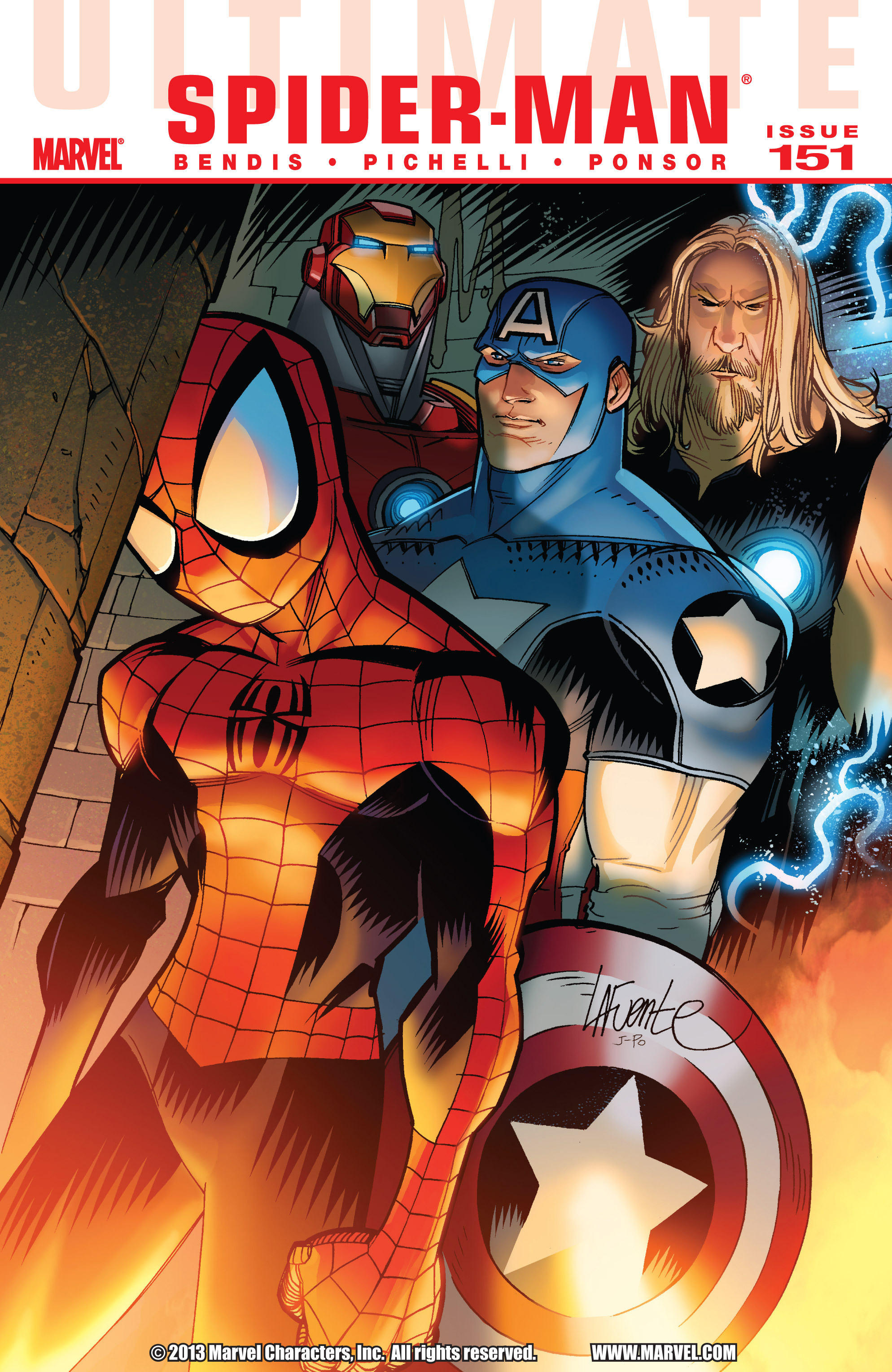Read online Ultimate Spider-Man (2009) comic -  Issue #151 - 1