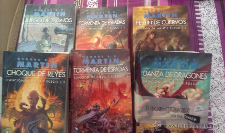 Libros Juego De Tronos Coleccion Completa - George R.R ...  @tataya.com.mx