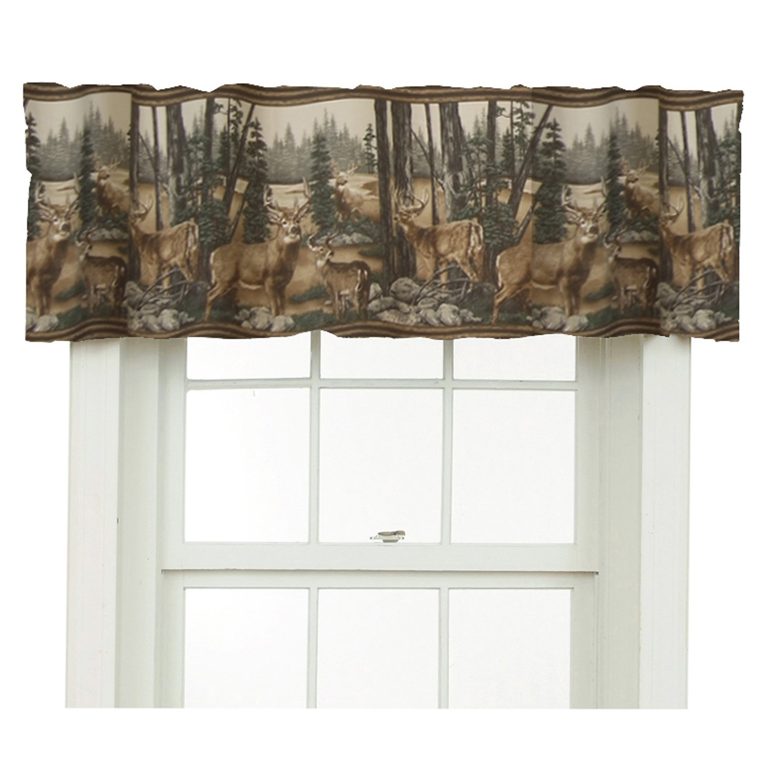 Rustic Whitetail Deer Bedding And Curtains