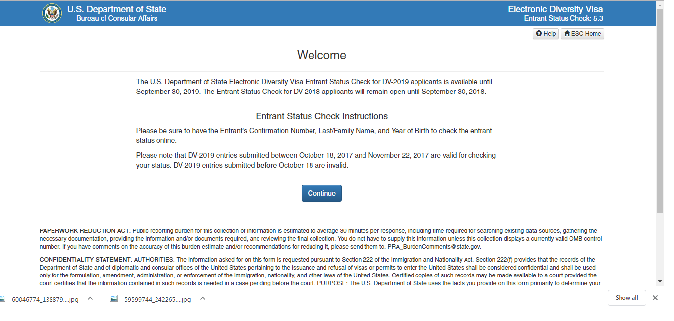Entrant Status Check >> Tips And Tricks How To Check Edv 2020 Result ड भ