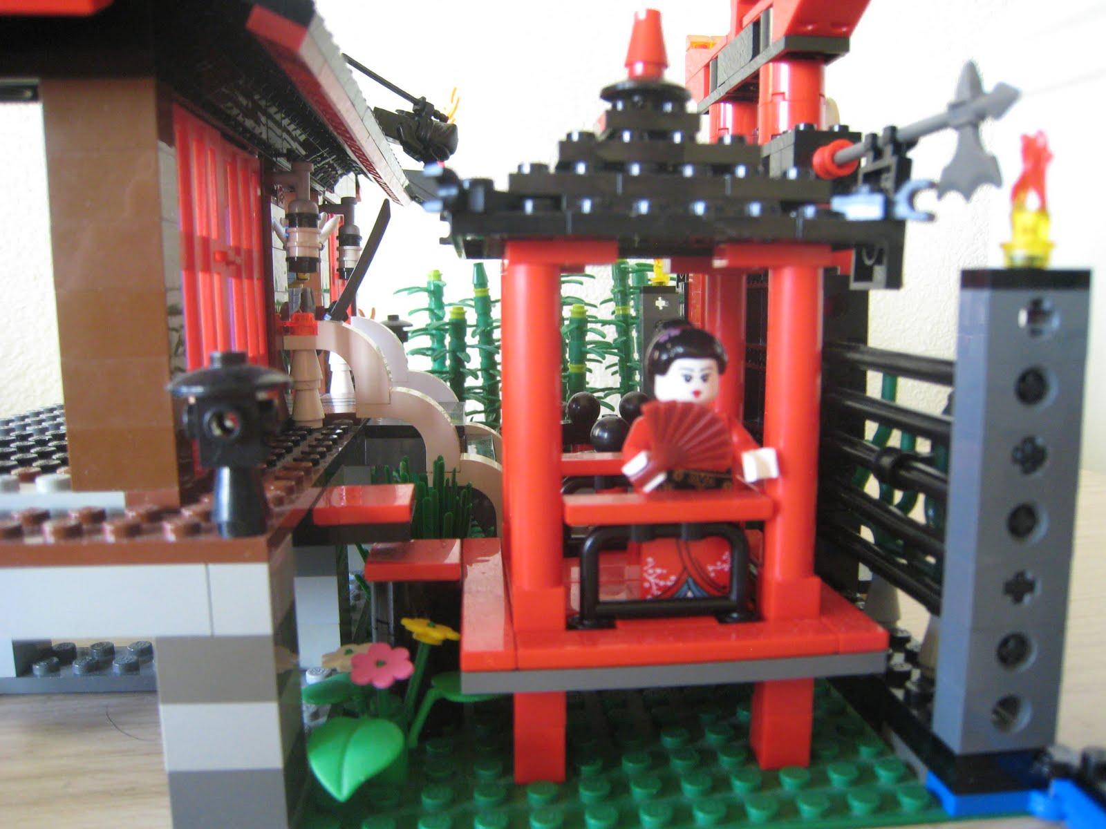 Lego R us: Lego Ninjago Temple - Japanese Garden
