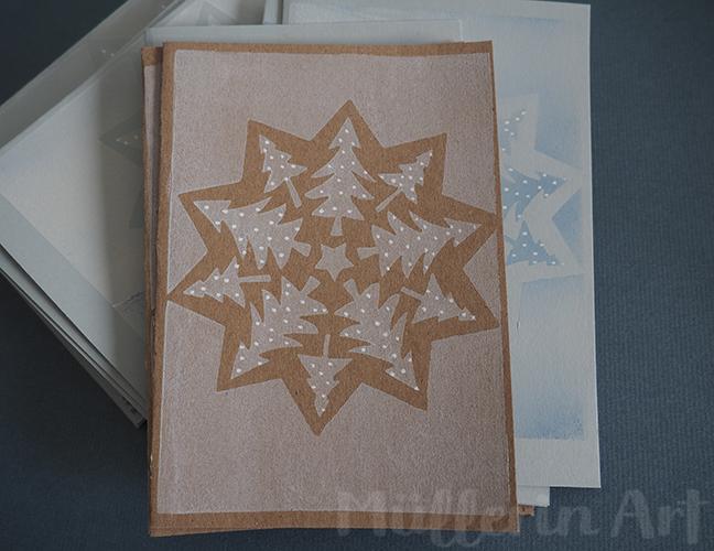 Weihnachtspost nach ©muellerinart