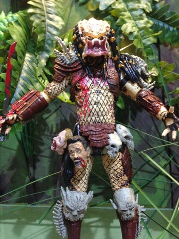 CobraShadowJoes: Review of NECA Toys Deluxe Bad Blood Predator