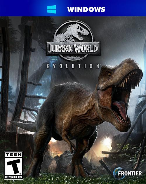 تحميل لعبه Jurassic World: Evolution  Digital Deluxe Edition v1.4.3    2 DLCs 2018 للكمبيوتر