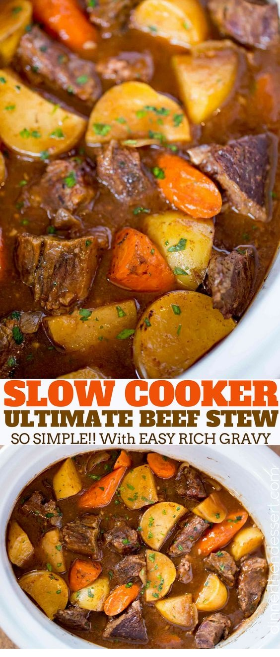 Ultimate Slow Cooker Beef Stew