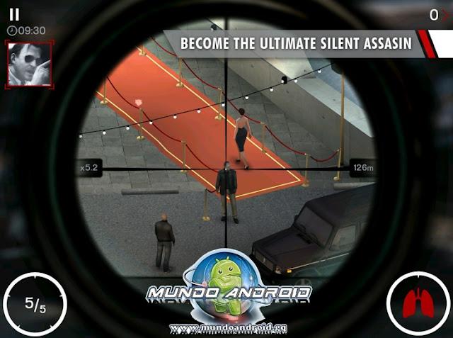 Jugabilidad de Hitman: Sniper