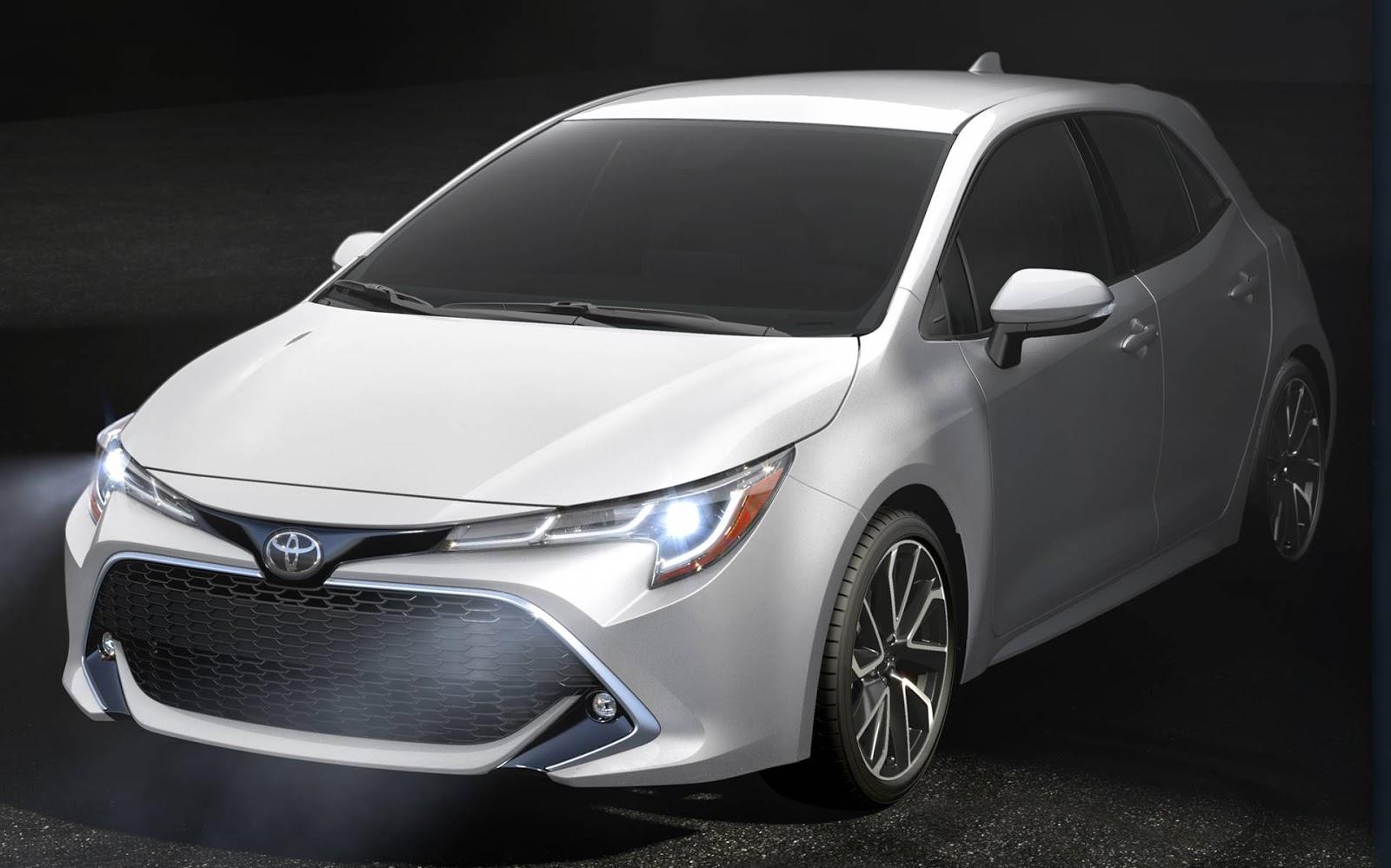 Novo Toyota Corolla 2019 Hatch Video E Detalhes Oficiais Car Blog Br