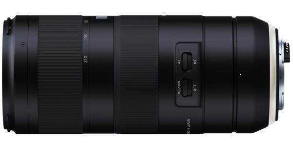 Tamron 70-210mm f/4 Di VC USD (A034), вид сбоку