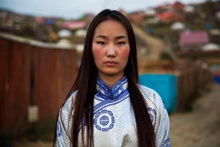 This Photographer Took Pictures Of Women From All Over The World. You'll Be Amazed By Their Beauty And Uniqueness! - Ulaanbaatar, Mongolia