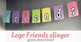 lego friends slinger knutselen gratis download