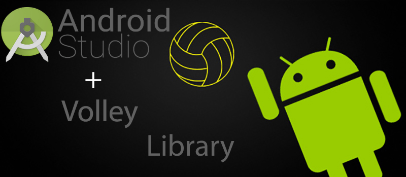 Add volley library to android studio using Git clone - JFP