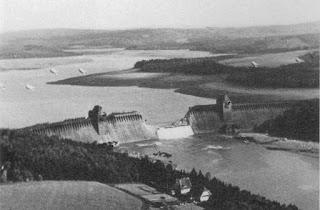 La catástrofe del Möhne, la presa tras el bombardeo