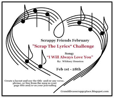 "February ""Scrap The Lyrics"" Challenge"
