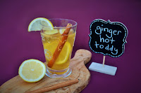 Scottish Ginger Hot Toddy for colds