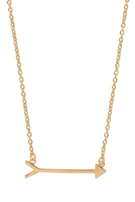 Stella & Dot On the Mark Necklace - Gold