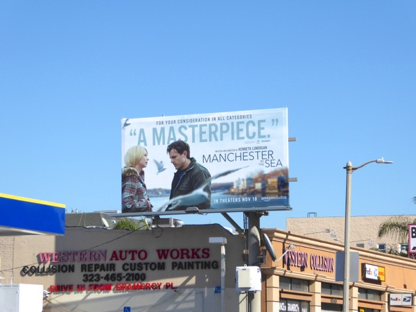 Manchester By the Sea billboard
