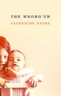 The Wrong'un, a thriller book promotion Catherine Evans