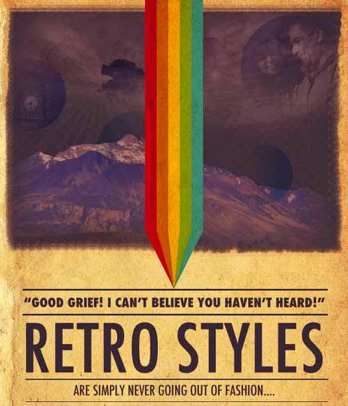 Design a Retro Styled Poster